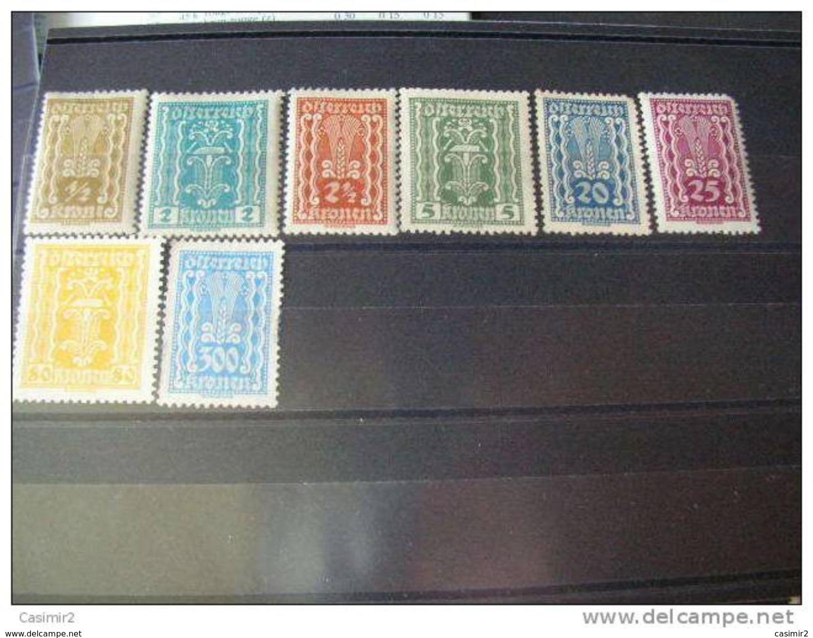 AUTRICHE TIMBRE NEUFS*   YVERT N° 253.278 - 1918-1945 1. Republik