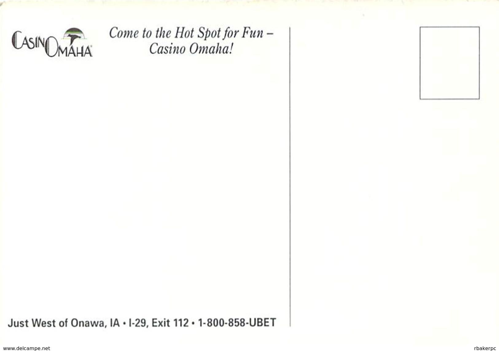 CasnoOmaha - Onawa, IA - Post Card - Other