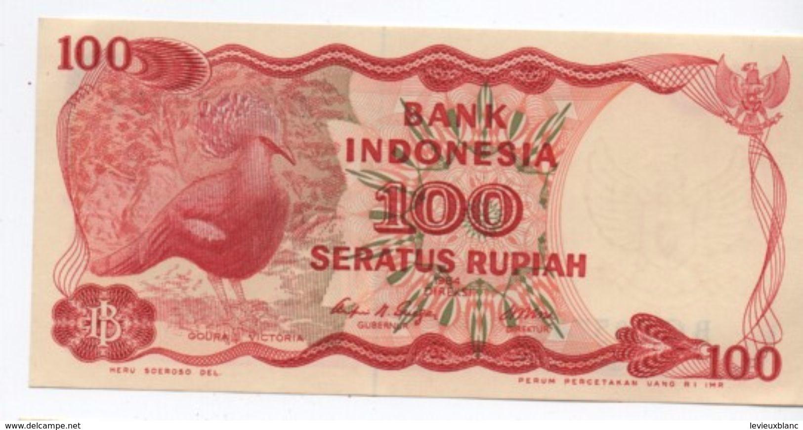 Billet / Indonésie/ Bank Indonesia/ 100 Seratus Rupiah/ 1984                         BILL165 - Indonésie