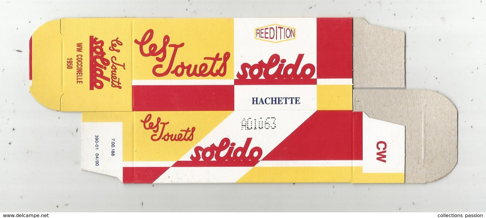 Faire Prendre De La Valeur à Votre Miniature, Solido ,Hachette , BOITE DE WW Coccinelle, 1950, Frais Fr :1.55 E - Voitures