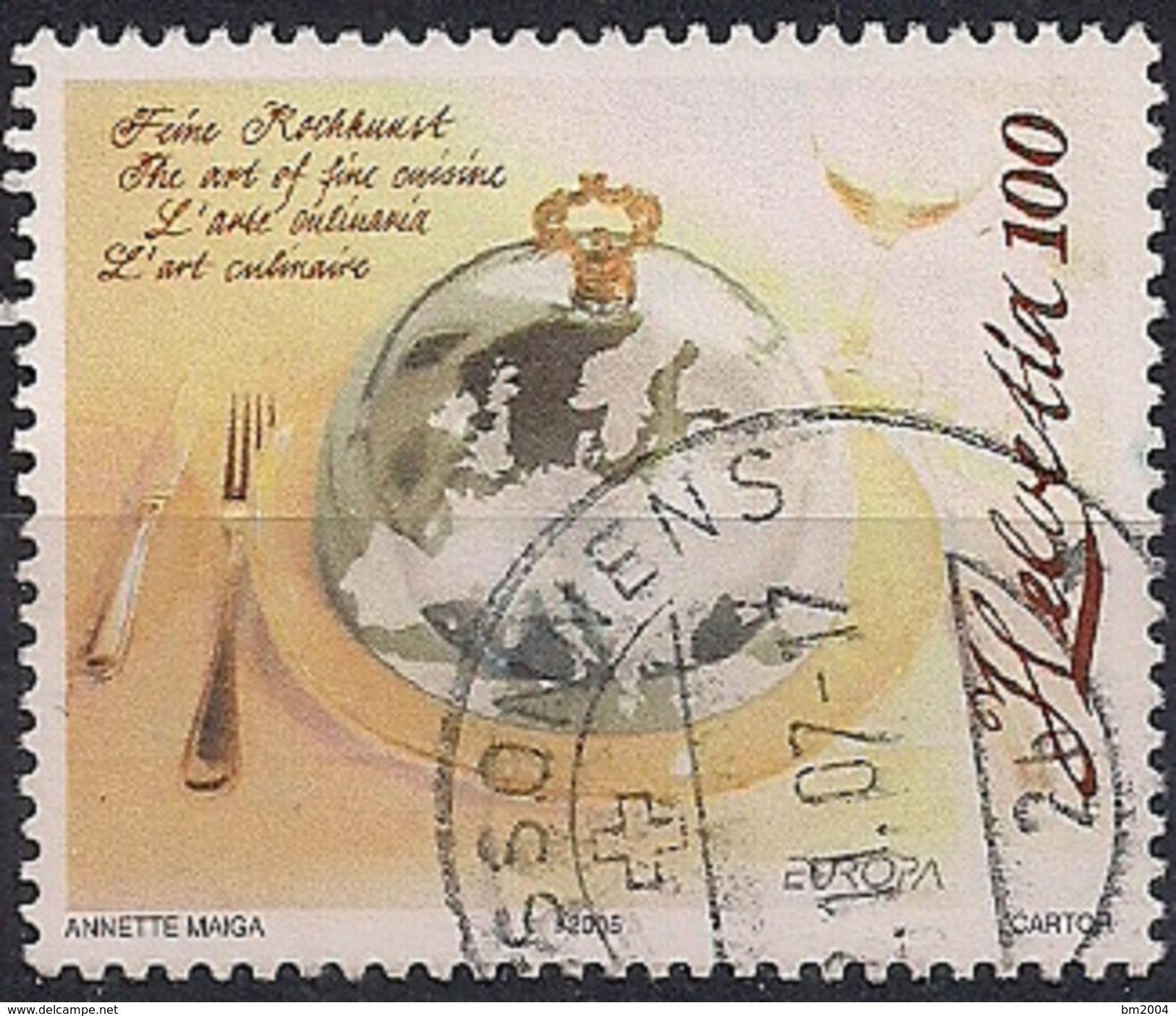 2005 Schweiz  Mi. 1927 Used  Europa: Gastronomie - Switzerland