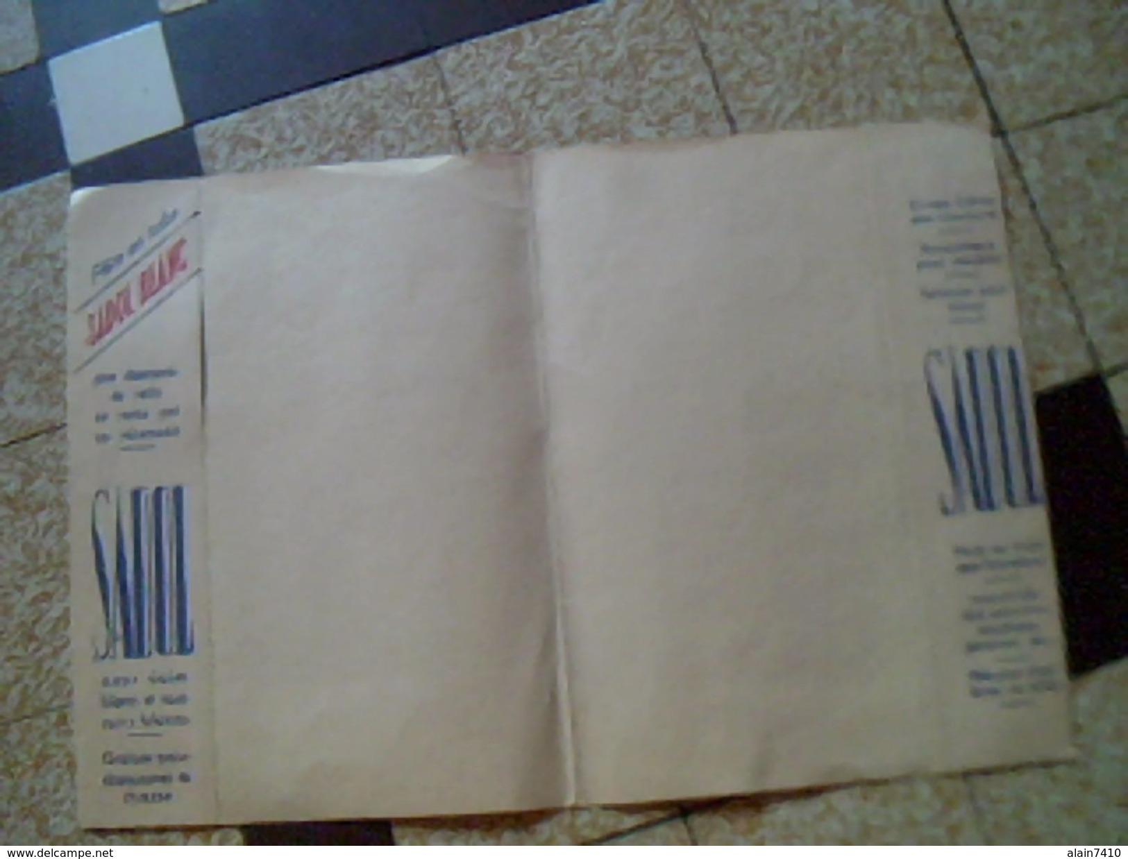 Protege Cahier Cirage Créme Sadol A La Therebentine.. Code De La Route De L Ecolier - Buvards, Protège-cahiers Illustrés