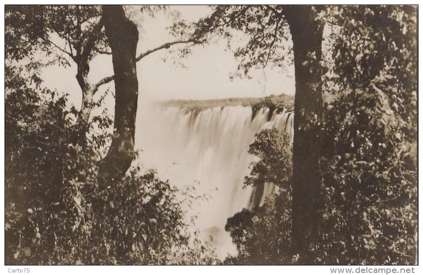 Afrique - Zambie Zimbabwe - Victoria Falls - A View Of The Eastern Cataract - Zambia