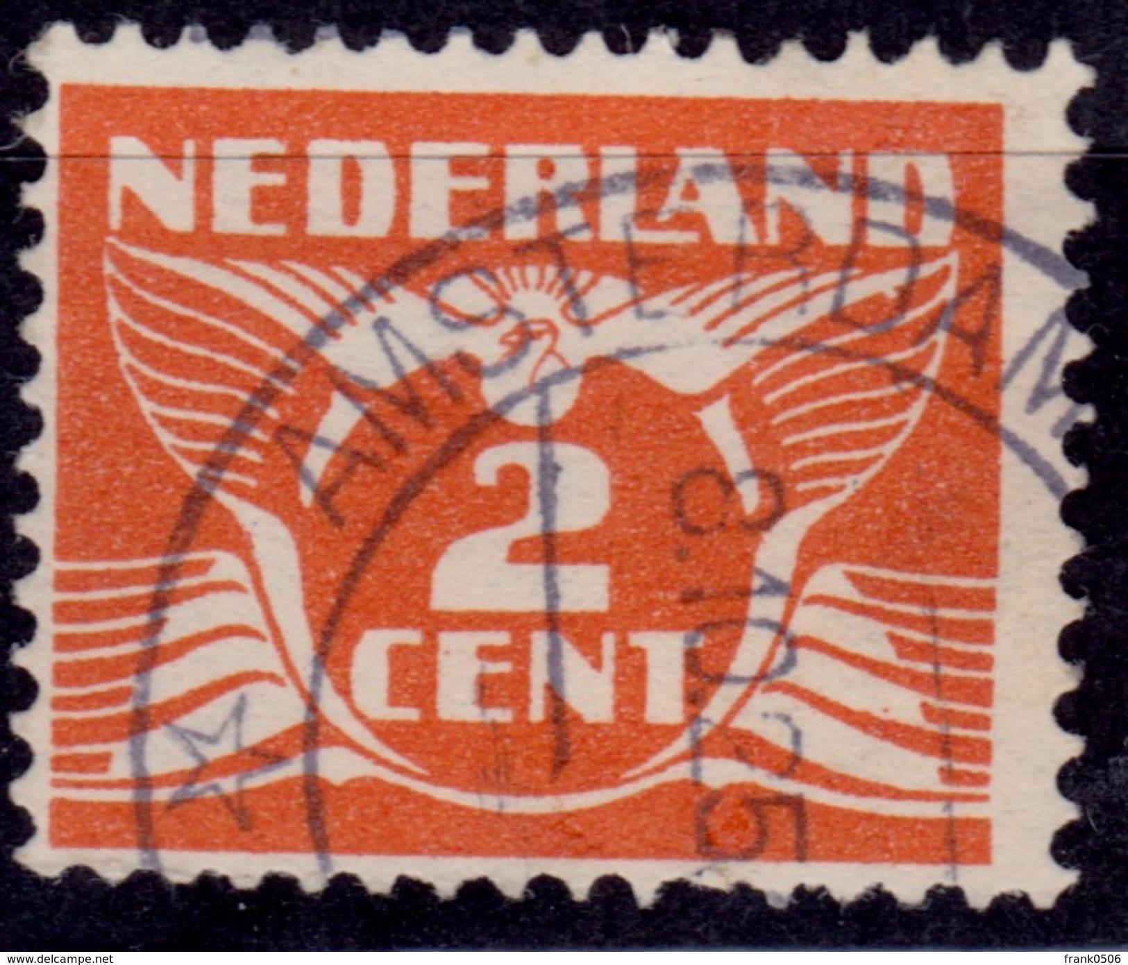 Netherlands, 1924, Gull, 2c, Sc#143, Used - 1891-1948 (Wilhelmine)