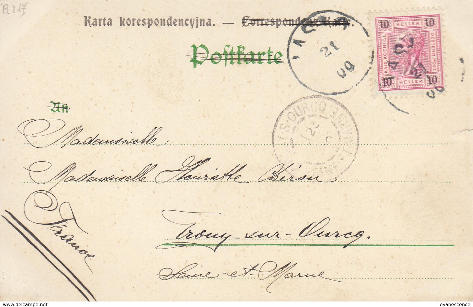 ARMENIEN / BELLE ILLUSTRATION /  DEPART DE POLOGNE   //////  REF SEPT. 17 ///// N° 4251 - Arménie