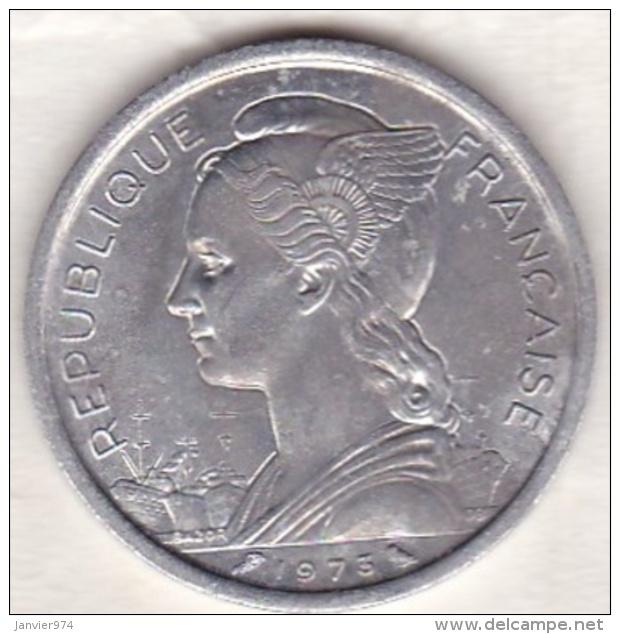 Ile De La Réunion. 2 Francs 1973. Aluminium - Réunion