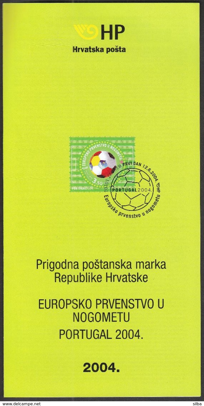 Croatia 2004 / Prospectus, Leaflet, Brochure / UEFA European Football Championship Portugal - UEFA European Championship