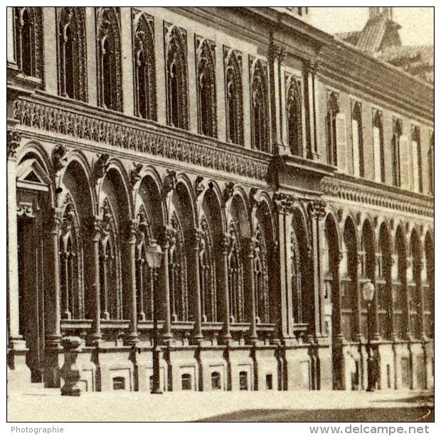 Italie Milan Hopital Milano Ospedale Maggiore Policlinico Ancienne Stereo Photo 1865 - Stereoscopic