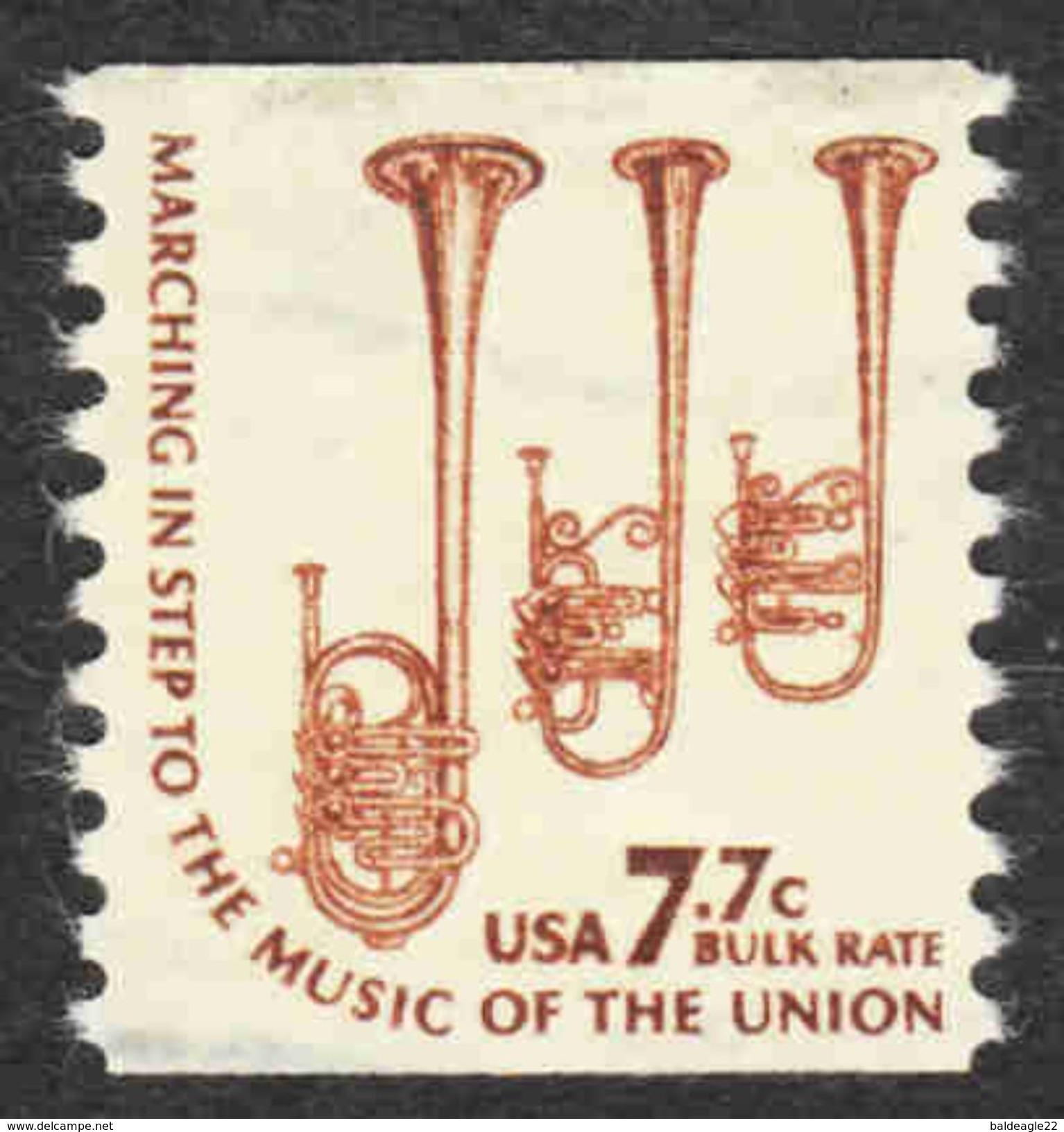 United States - Scott #1614 Used (2) - Coils & Coil Singles