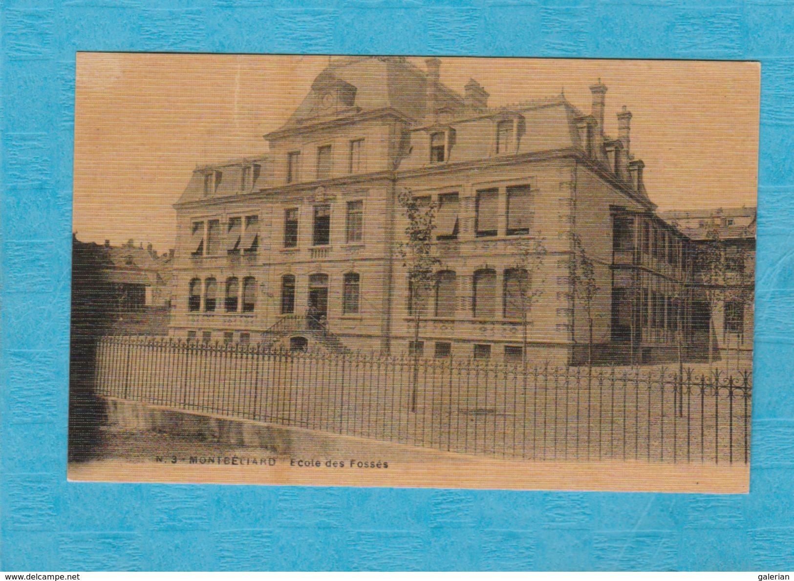 Montbéliard. - École Des Fossés. - Montbéliard