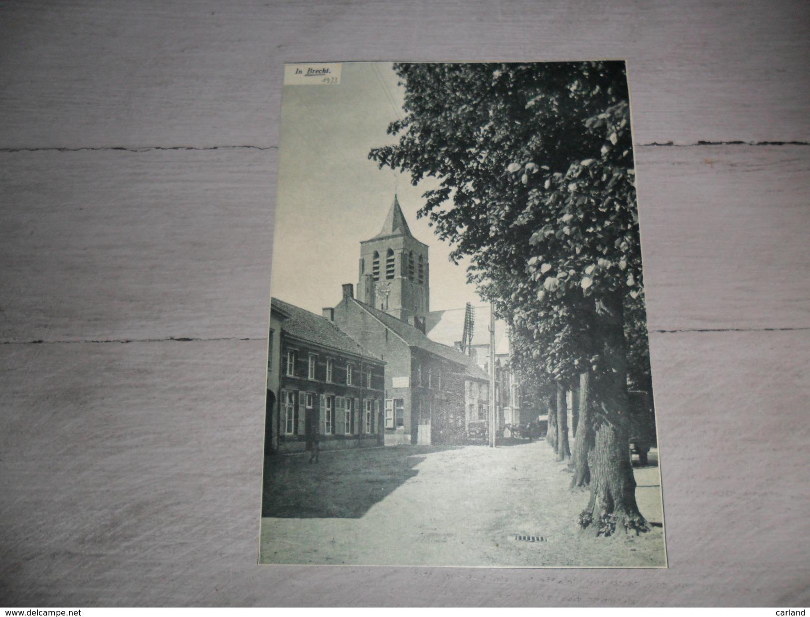 Origineel Knipsel ( 467 ) Uit Tijdschrift  :  Brecht  1933 - Alte Papiere