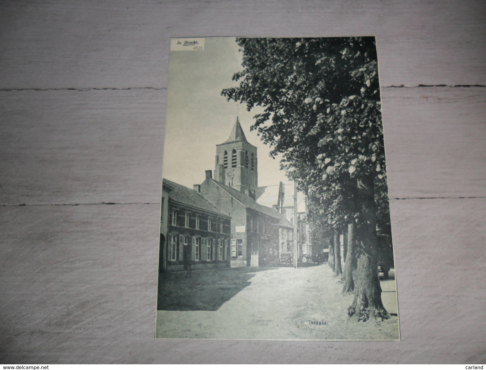 Origineel Knipsel ( 467 ) Uit Tijdschrift  :  Brecht  1933 - Ohne Zuordnung