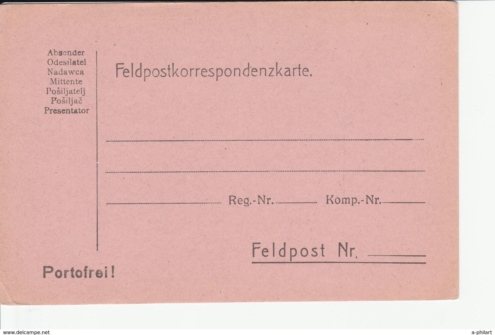 VIELE AUSTRIA - ÖSTERREICH - AUTRICHE - Feldpost - Postkarte - Carte Postale - Post Card - Intero Postale- Entier - Ungebraucht