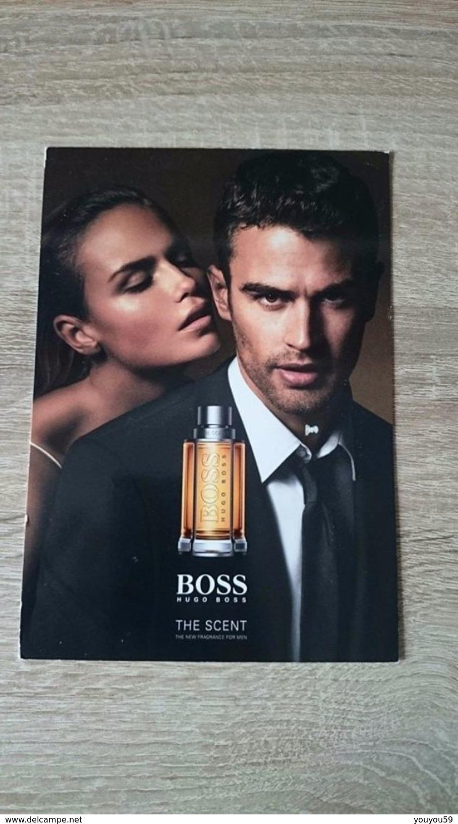 PUBLICITE / CARTE PARFUMEE DU PARFUM HUGO BOSS THE SCENT / VIDE = UTILISÉ - Cartes Parfumées
