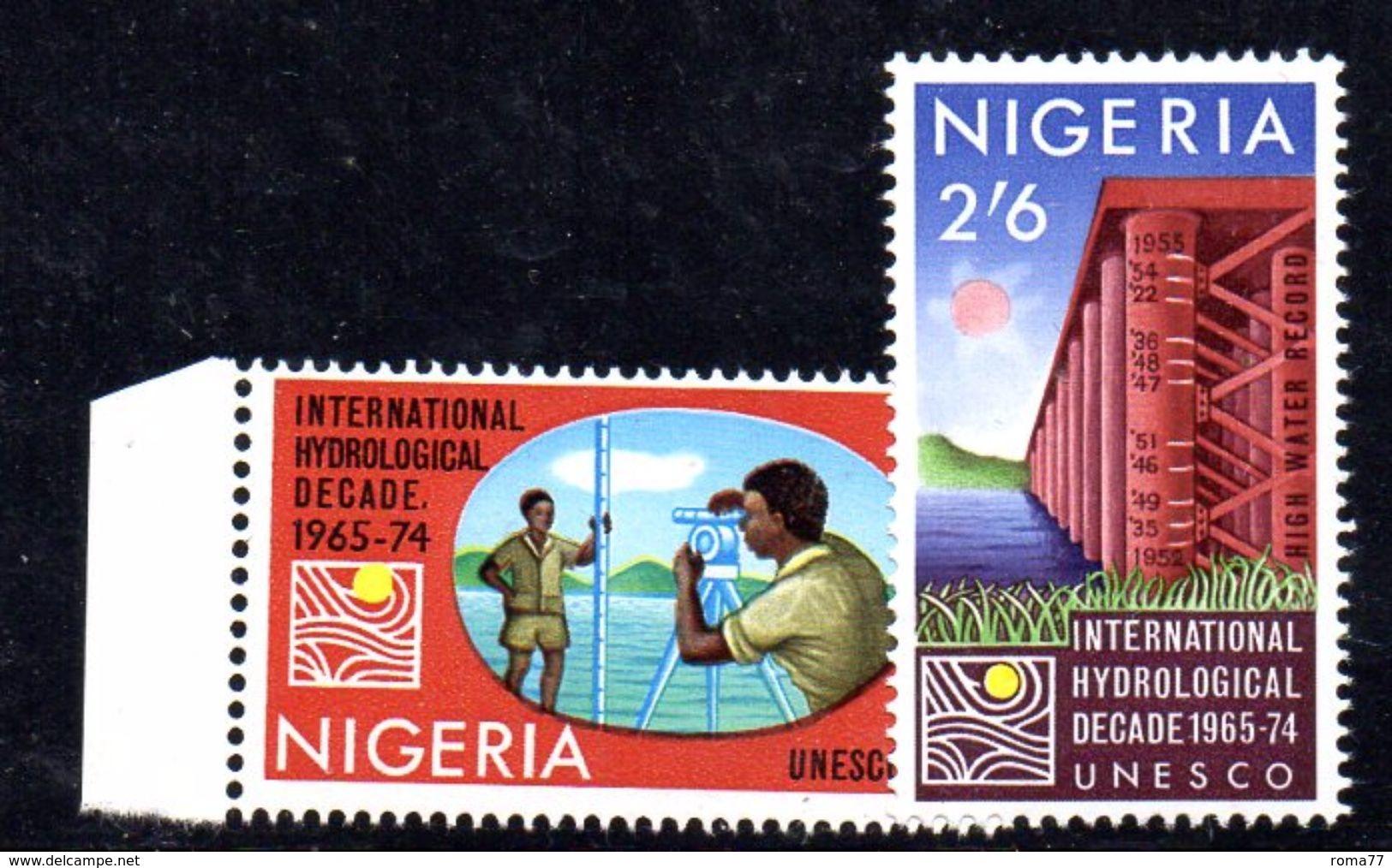 T788 - NIGERIA 1967 , Serie Yvert N. 206/207  ***  MNH - Nigeria (1961-...)