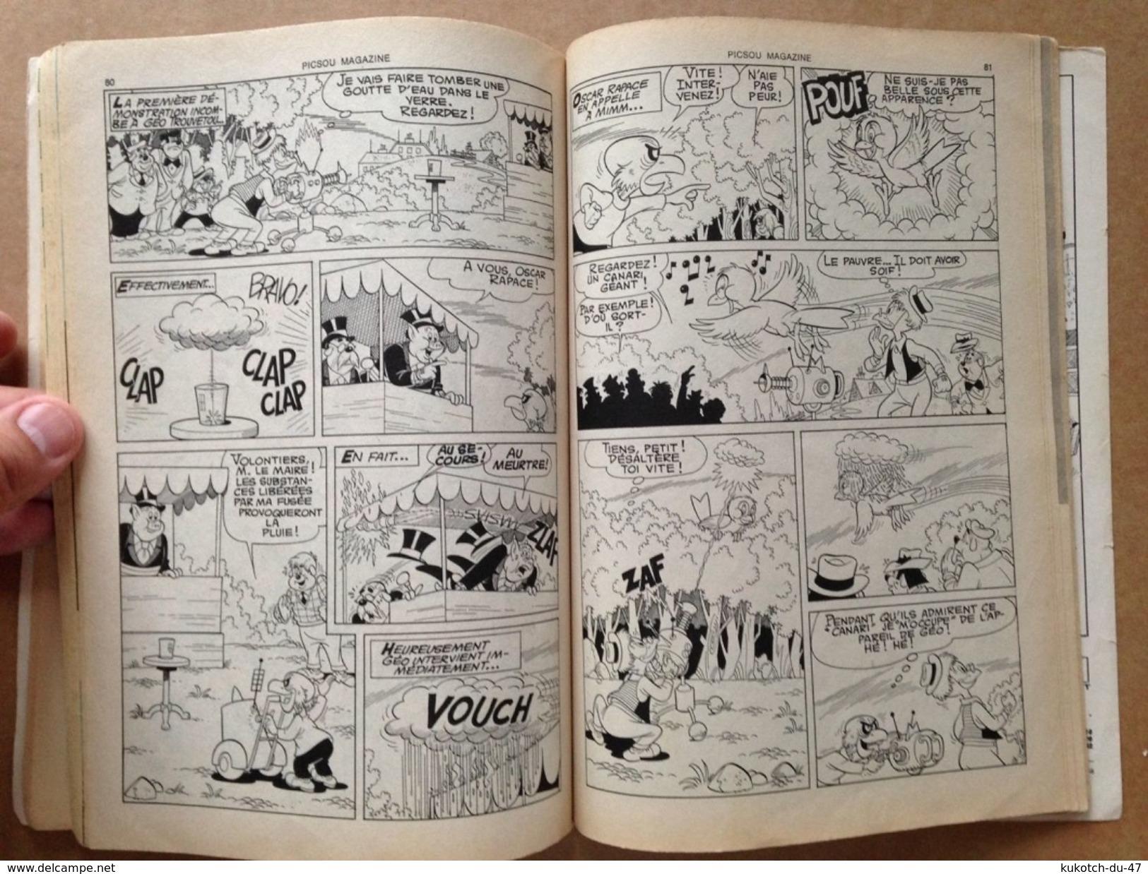 Disney - Picsou Magazine - Année 1976 - N°56 (avec Grand Défaut D'usure) - Picsou Magazine
