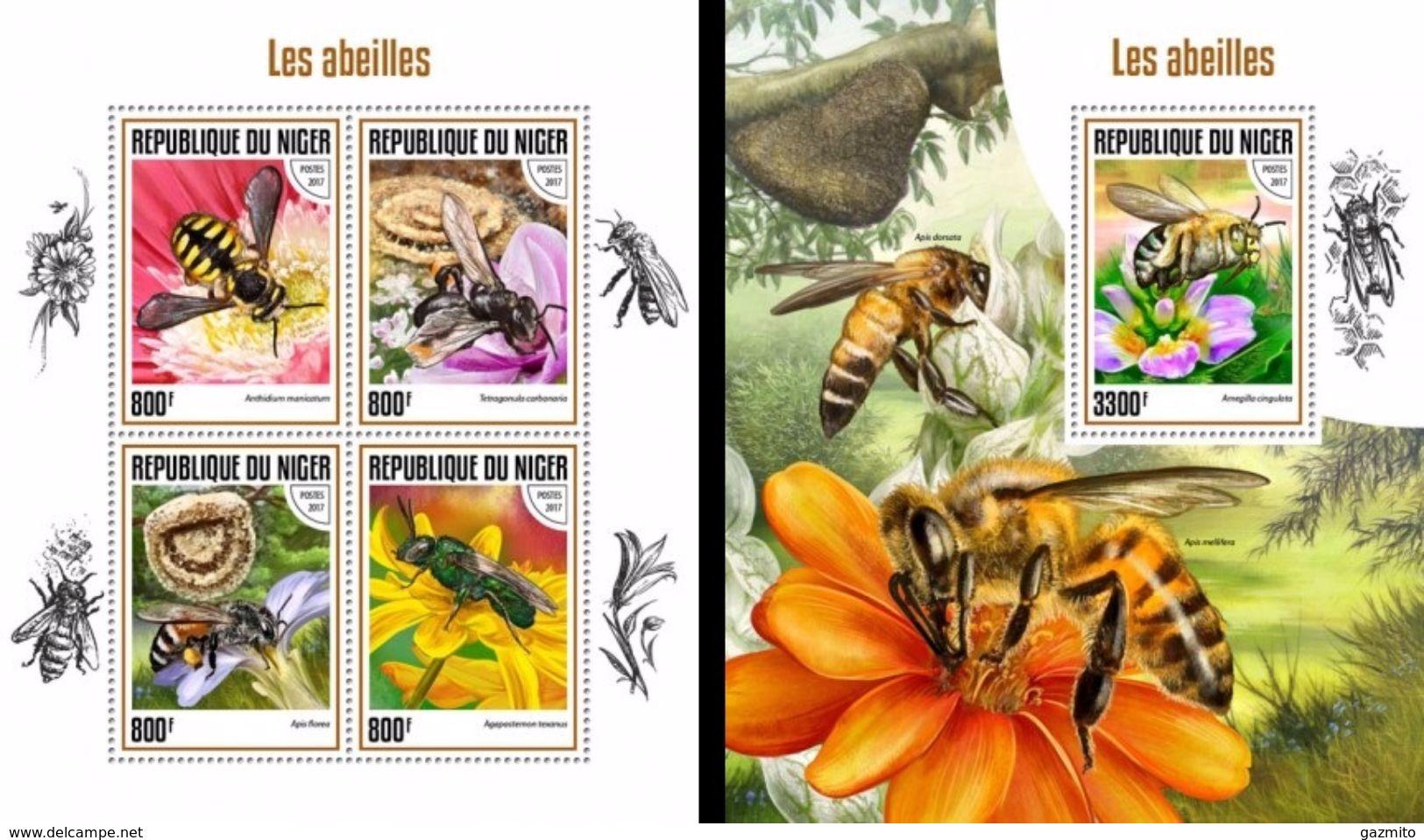 Niger 2017, Animals, Bees, 4val In BF +BF - Bienen