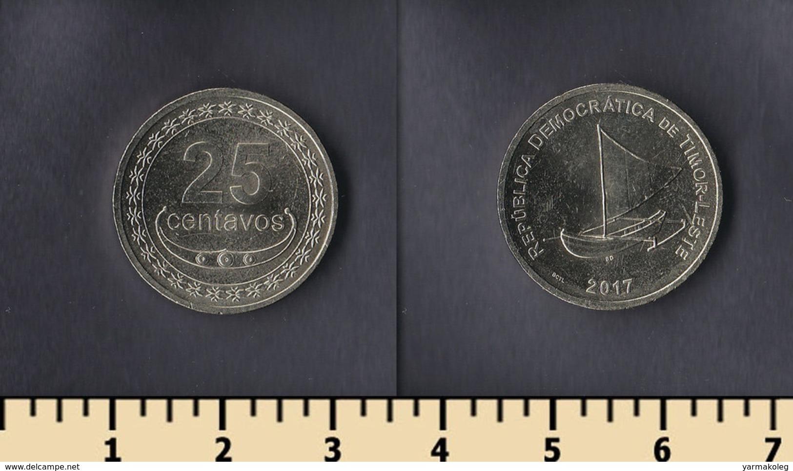Timor 25 Centavos 2017 - Timor