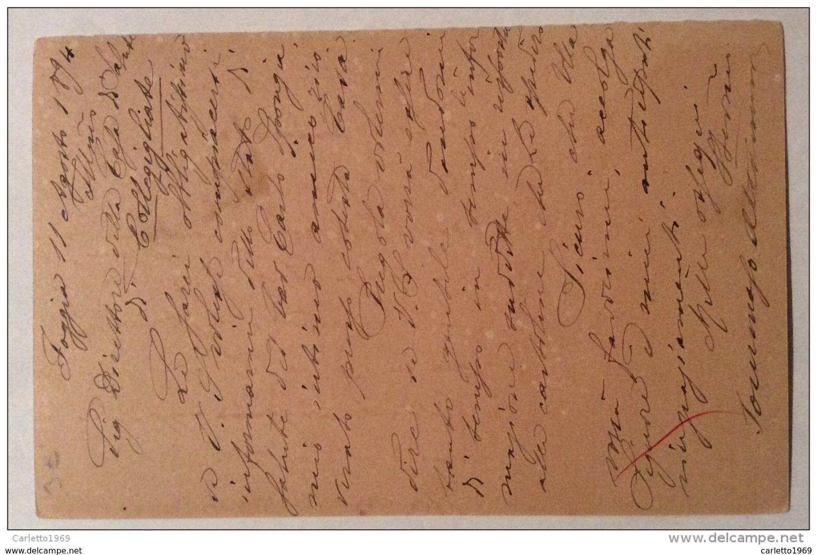 Cartolina Postale 15 Centesimi - 1861-78 Vittorio Emanuele II