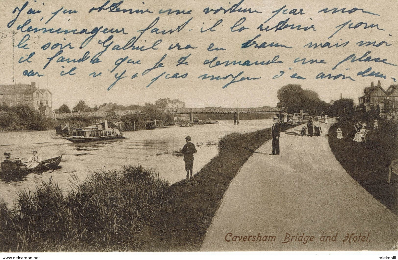CAVERSHAM-BRIDGE AND HOTEL - Inghilterra