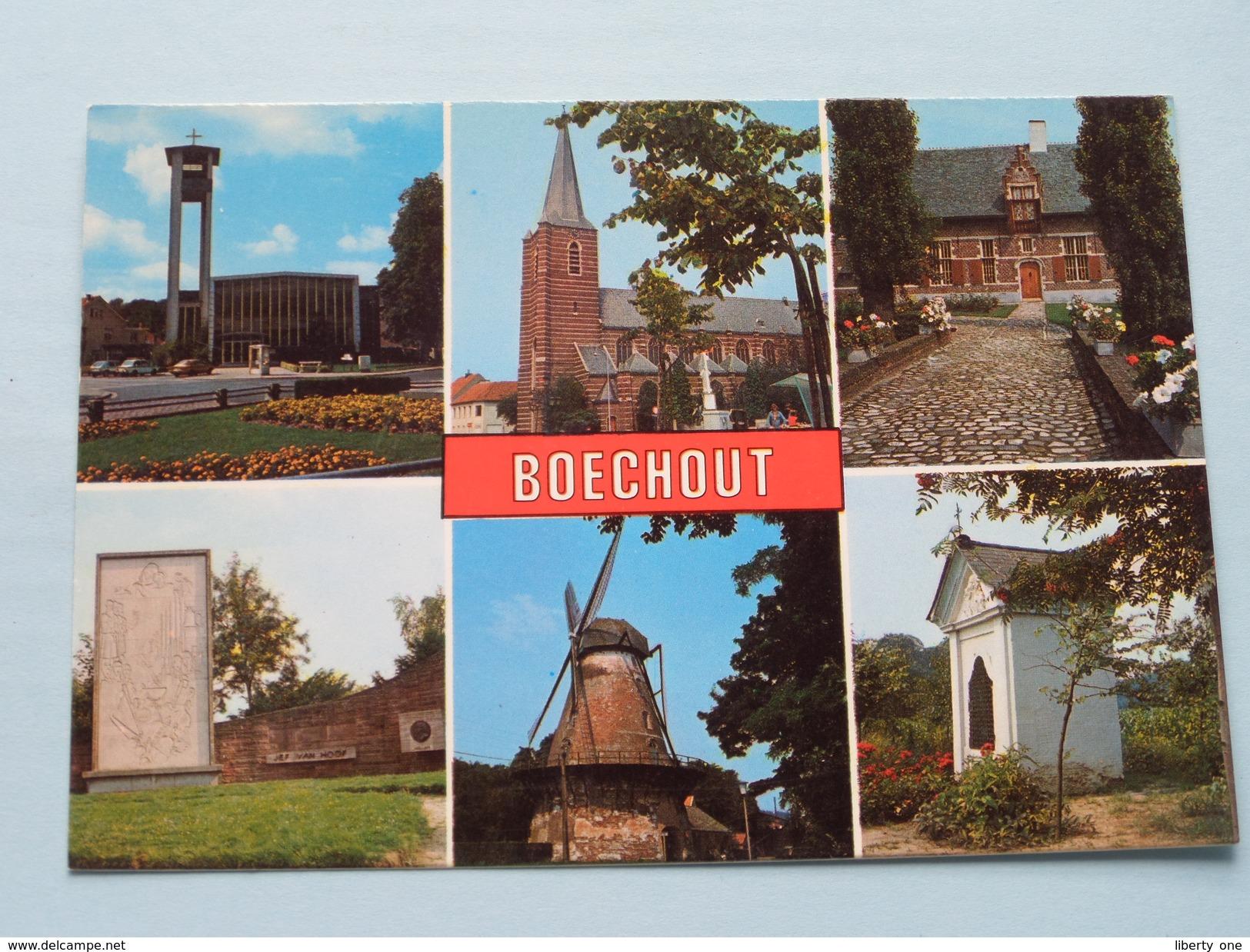 Groeten Uit BOECHOUT ( JvdB ) Anno 19?? ( Zie Foto Voor Details ) !! - Boechout
