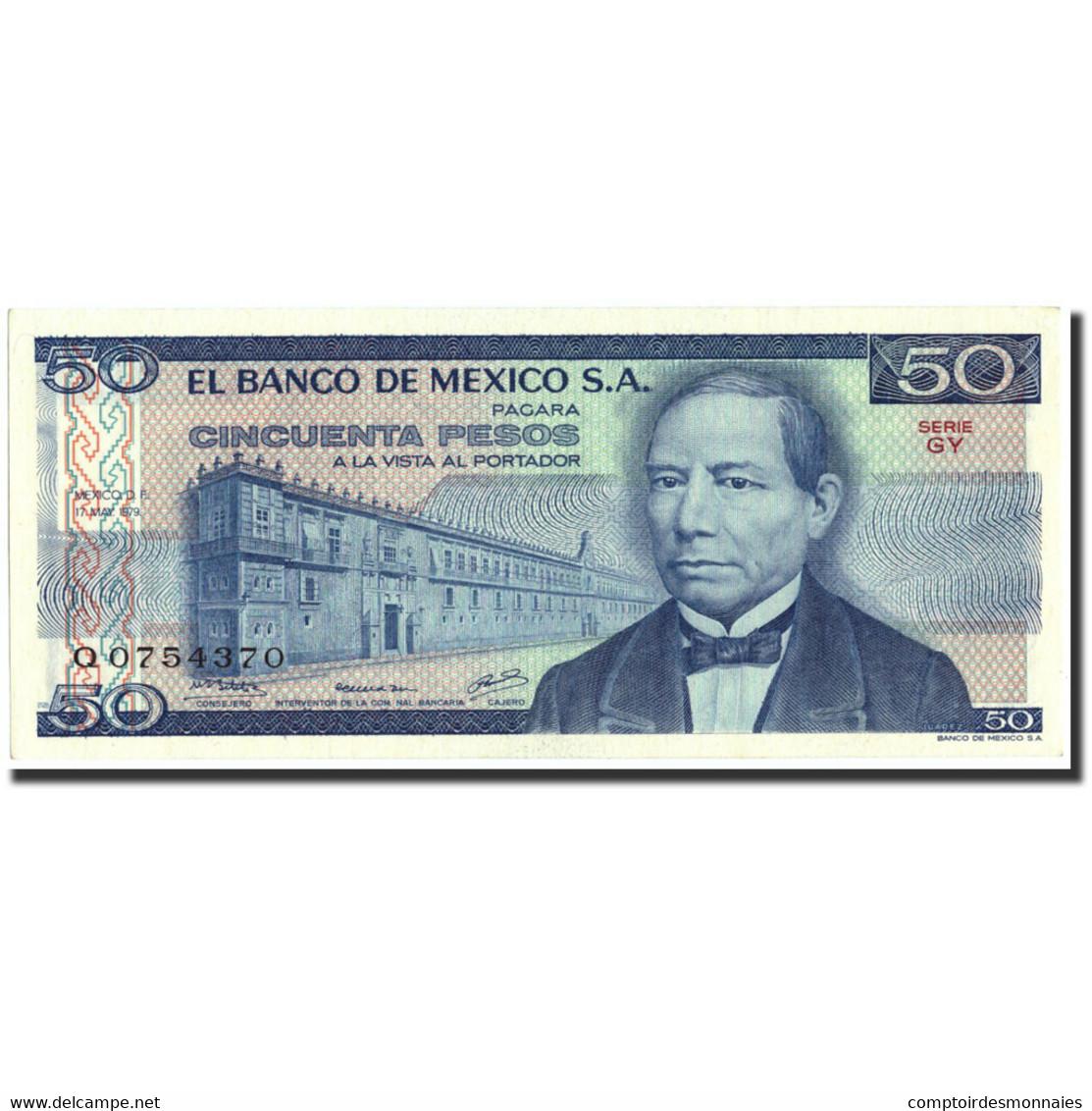 Mexique, 50 Pesos, 1978, 1978-07-05, KM:67a, SPL - Mexique