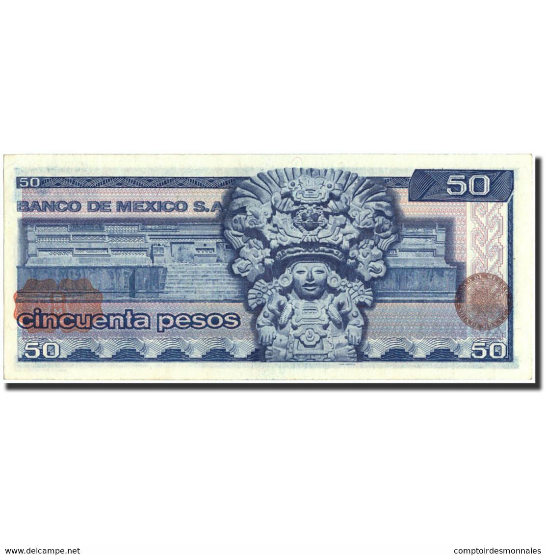 Mexique, 50 Pesos, 1978, 1978-07-05, KM:67a, SPL - México