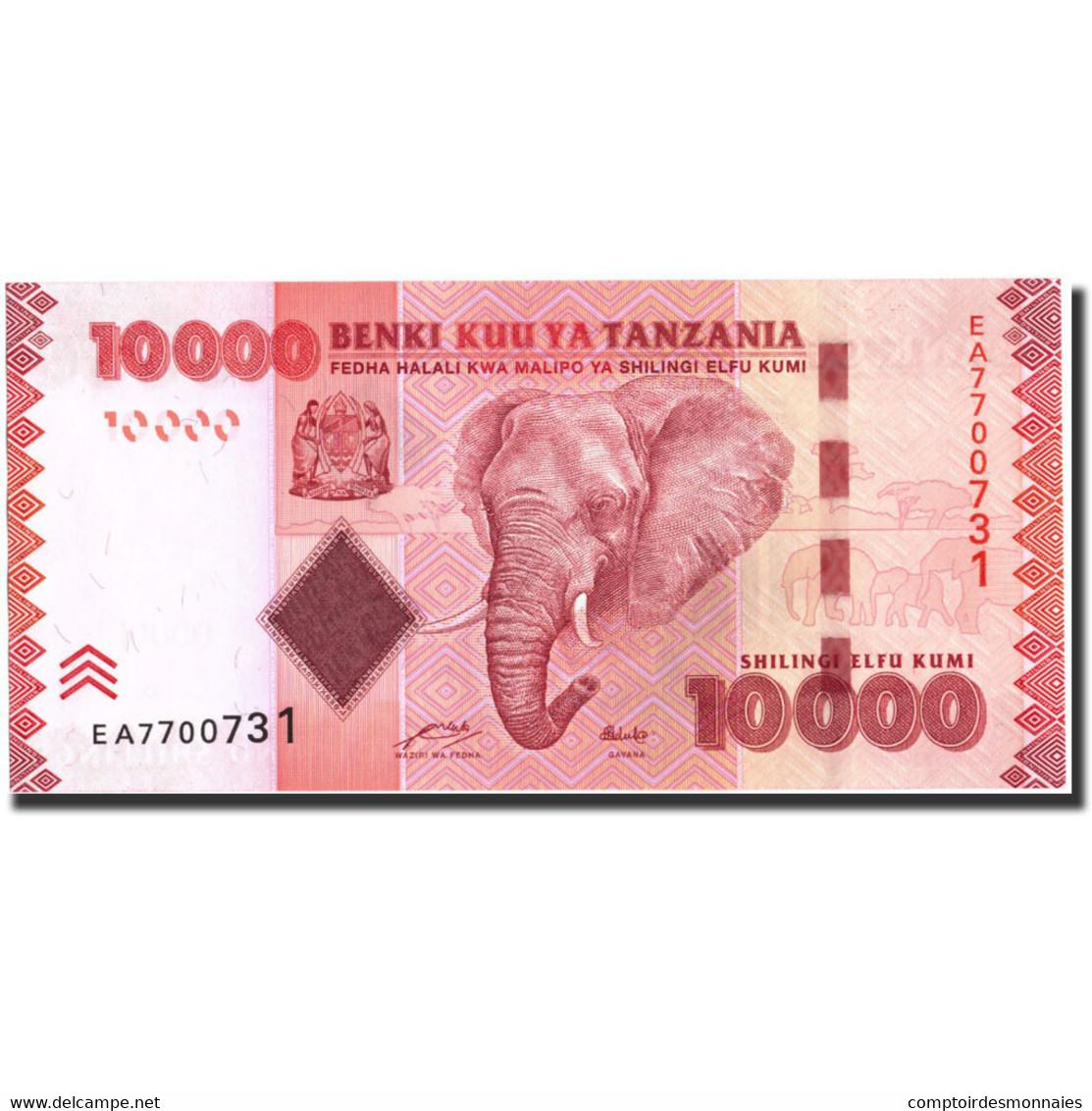 Tanzania, 10,000 Shilingi, 2010, Undated (2010), KM:44, NEUF - Tanzanie