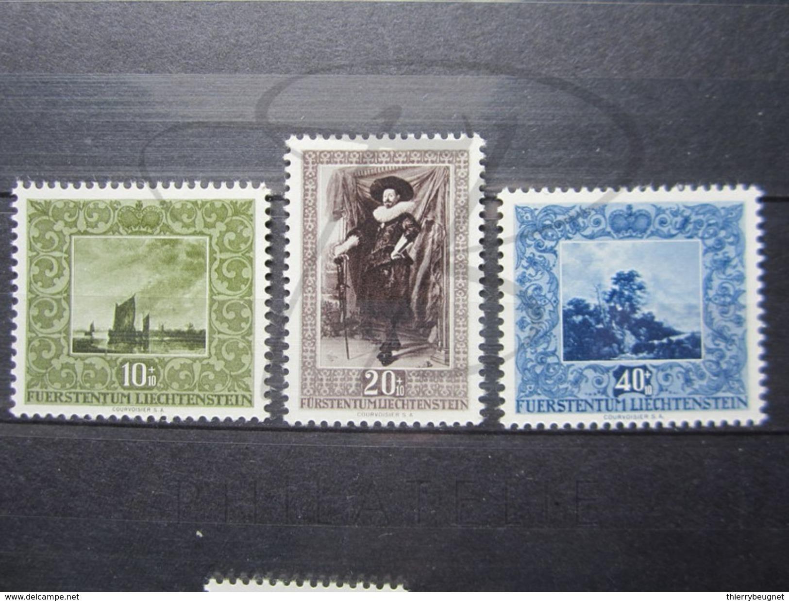 VEND BEAUX TIMBRES DU LIECHTENSTEIN N° 263 - 265 , XX !!! - Liechtenstein