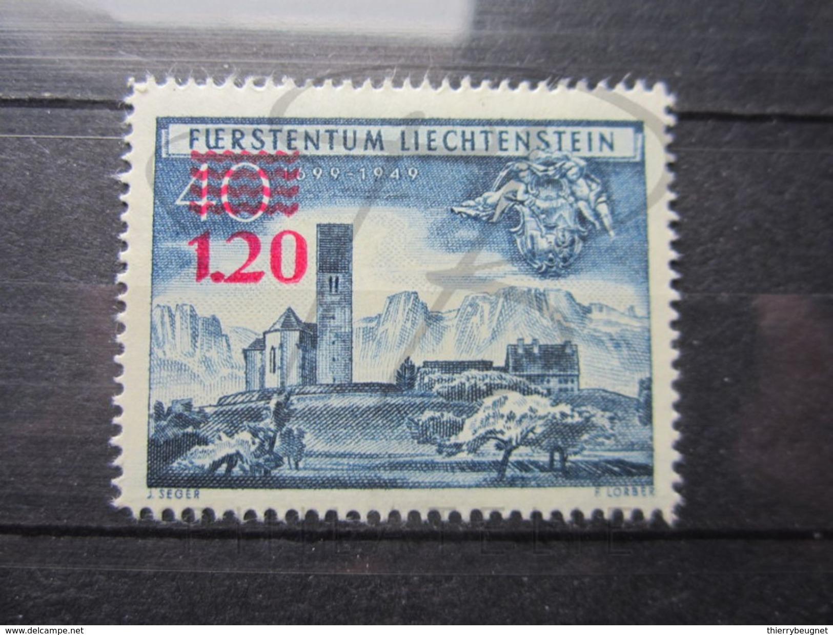 VEND BEAU TIMBRE DU LIECHTENSTEIN N° 271 , X !!! - Liechtenstein