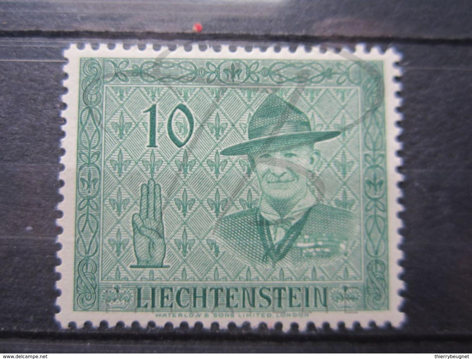 VEND BEAU TIMBRE DU LIECHTENSTEIN N° 277 , XX !!! - Liechtenstein