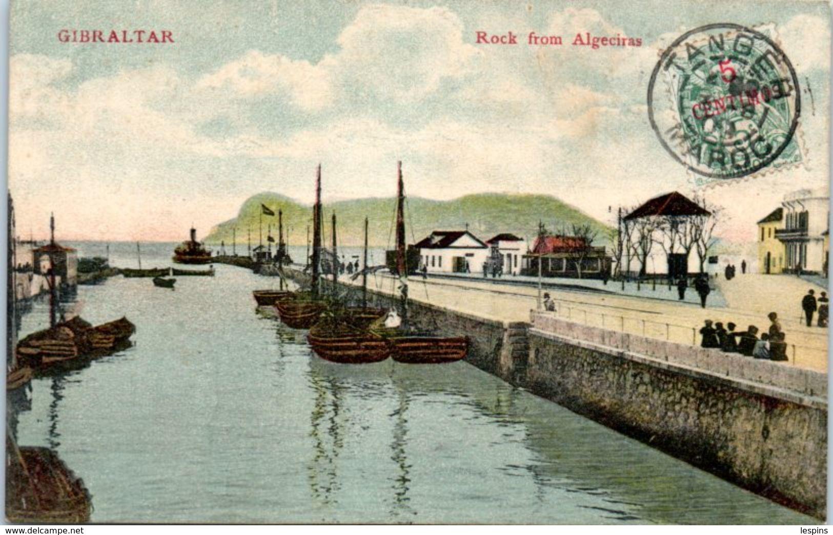 GIBRALTAR -- Rock From  Algeciras - Gibraltar