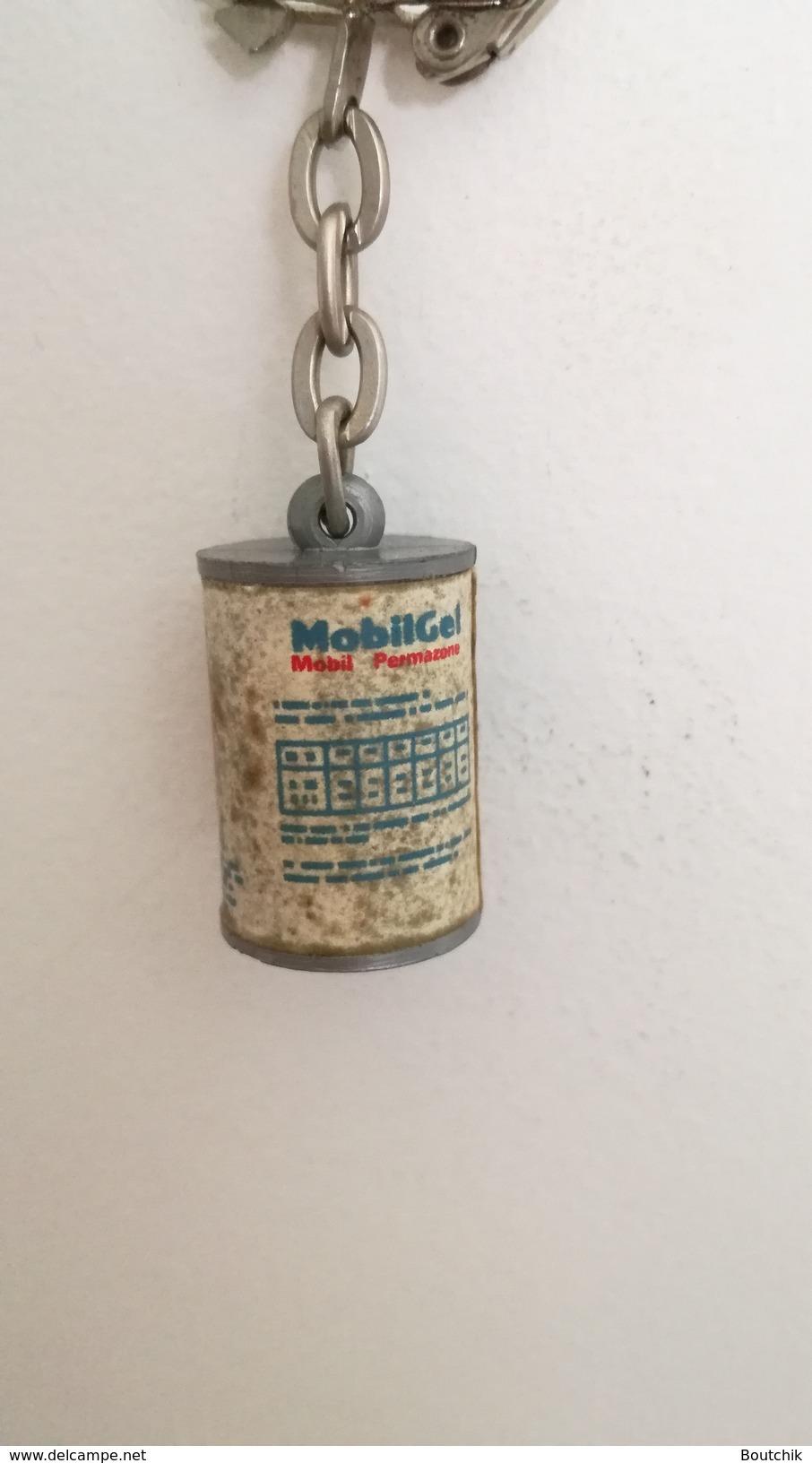 Porte Clés MOBIL Mobigel - Autres Collections