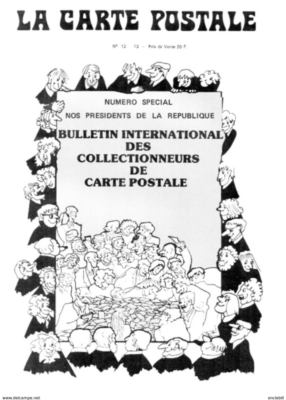 La Carte Postale Revue N°12 1980 Présidents De La République Très Bon état - Français