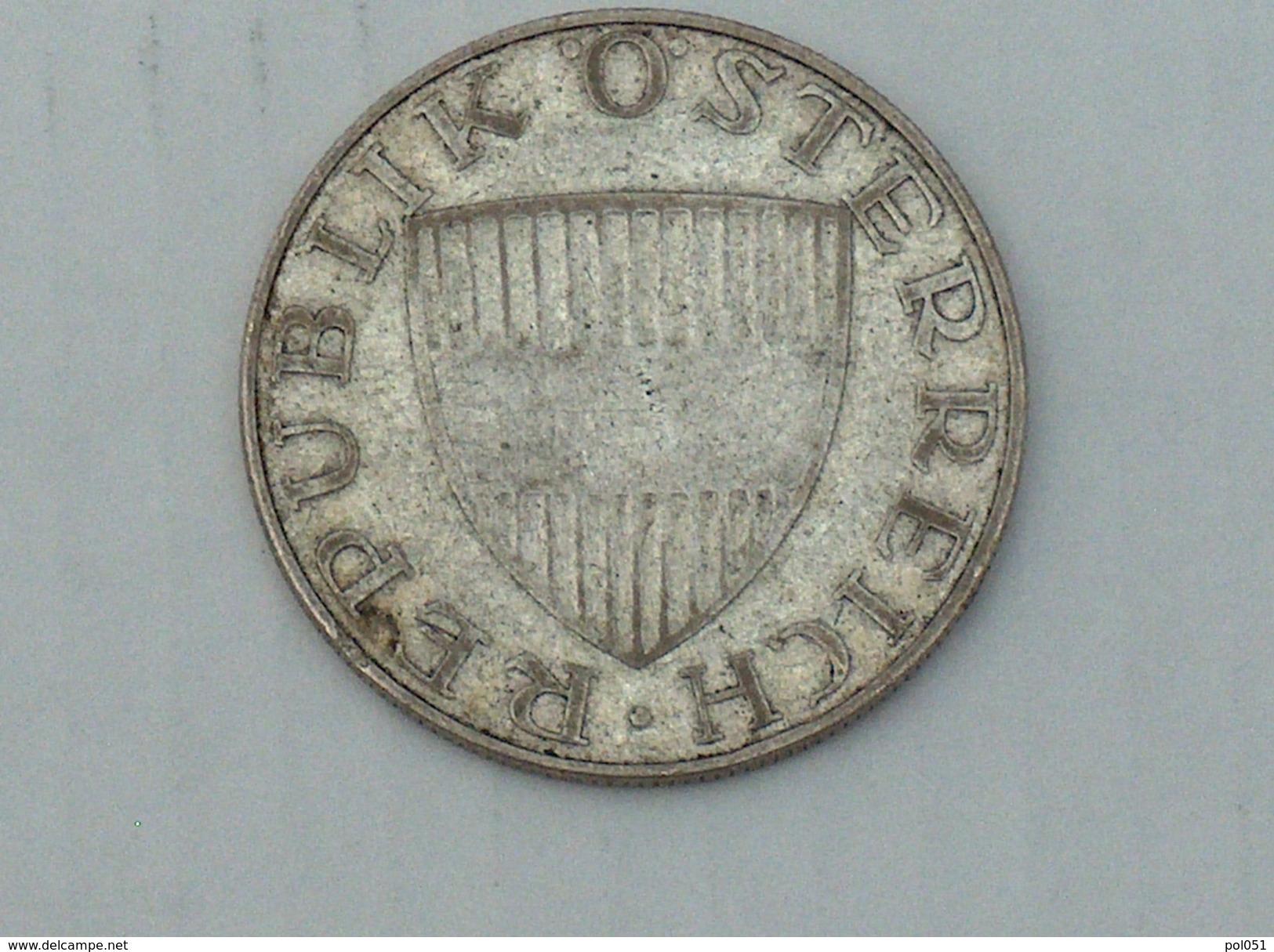 AUTRICHE 10 Schilling 1958  ARGENT SILVER - Autriche