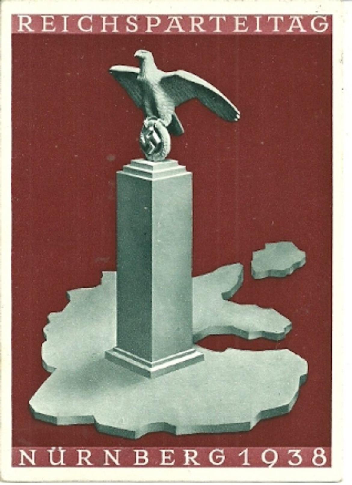 Interessante Karte 1938 - Briefe U. Dokumente