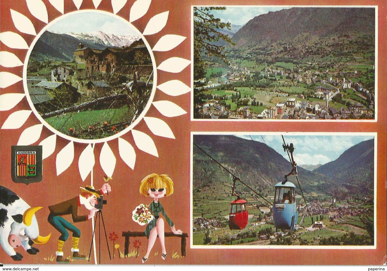 VALLS D'ANDORRA  (809) - Andorra