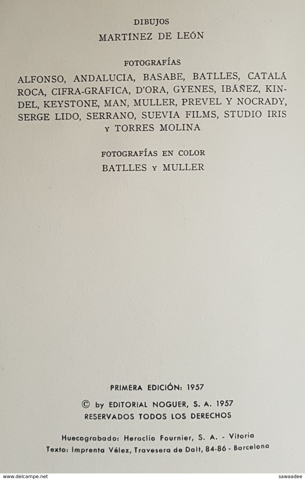 LIVRE - DANSE - FLAMENCO - EL BAILE ANDALUZ - CABALLERO BONALD - ED. NOGUER - 1957 - PHOTOGRAPHIE - Culture