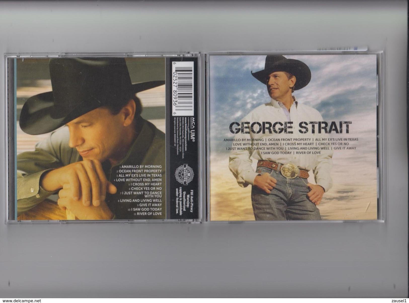 George Strait - ICON - Original CD - Country & Folk