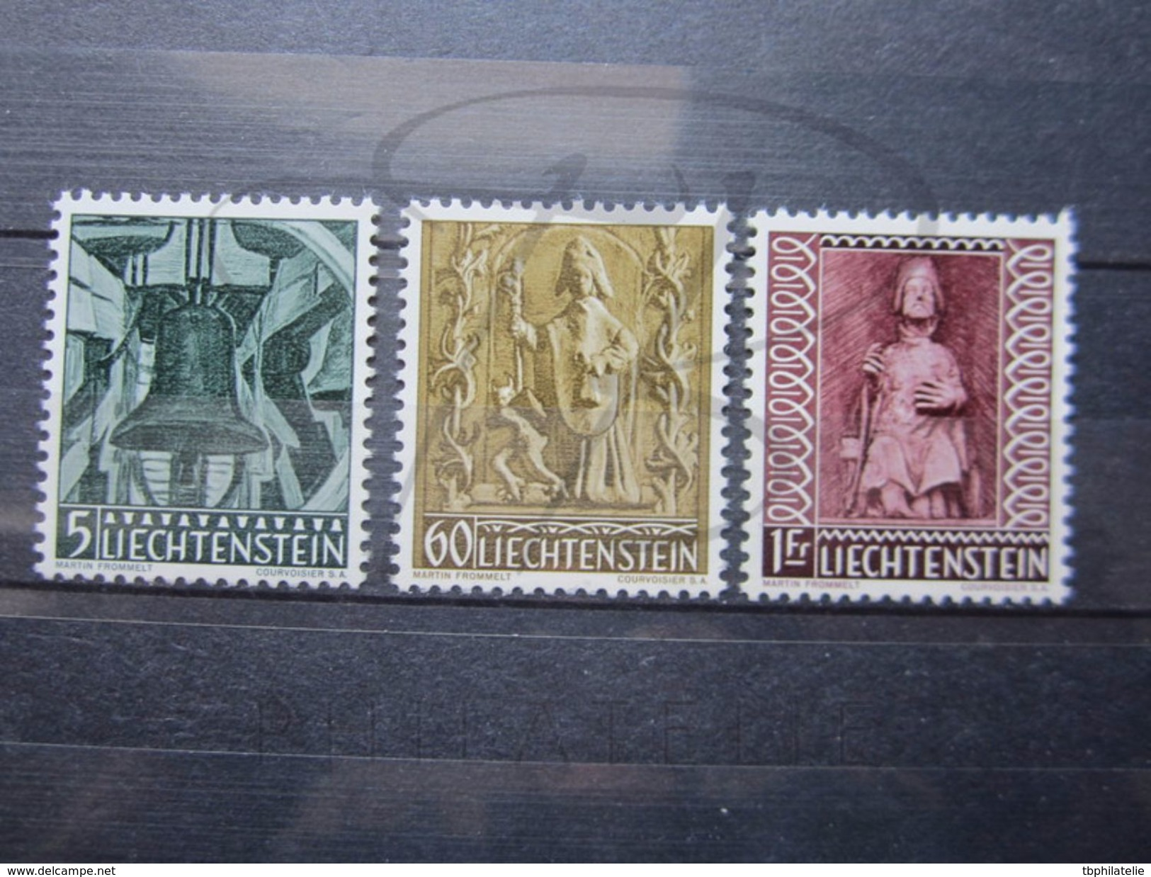 VEND TIMBRES DU LIECHTENSTEIN N° 350 - 352 , NEUFS SANS CHARNIERE !!! - Liechtenstein