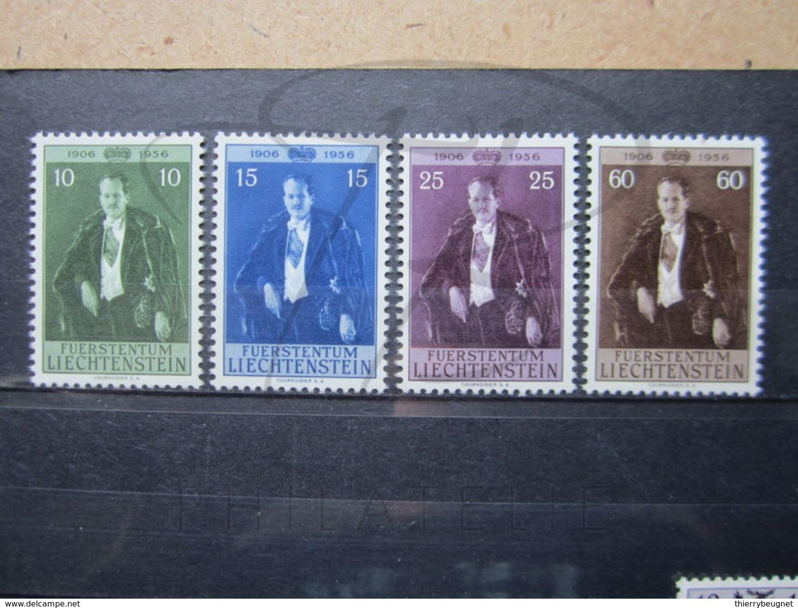 VEND BEAUX TIMBRES DU LIECHTENSTEIN N° 309 - 312 , XX !!! - Liechtenstein
