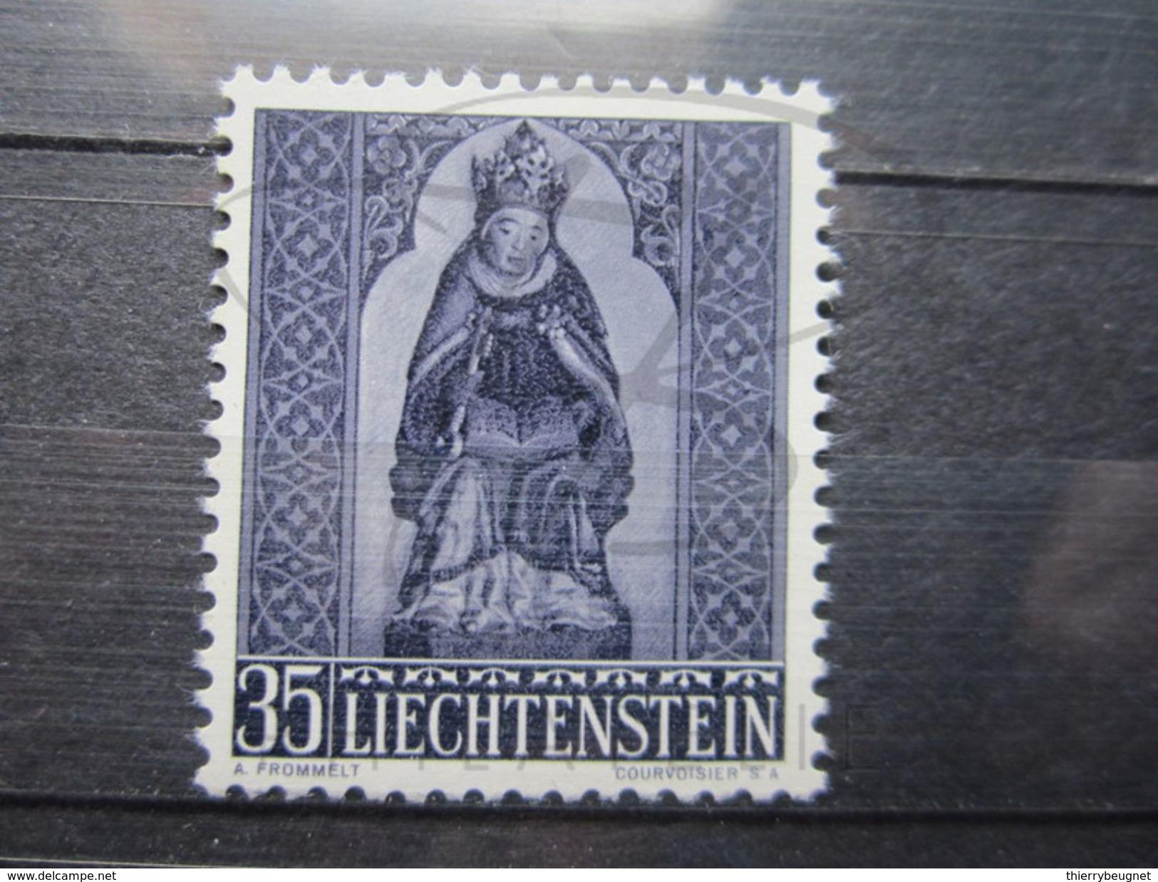 VEND BEAU TIMBRE DU LIECHTENSTEIN N° 337 , XX !!! - Liechtenstein