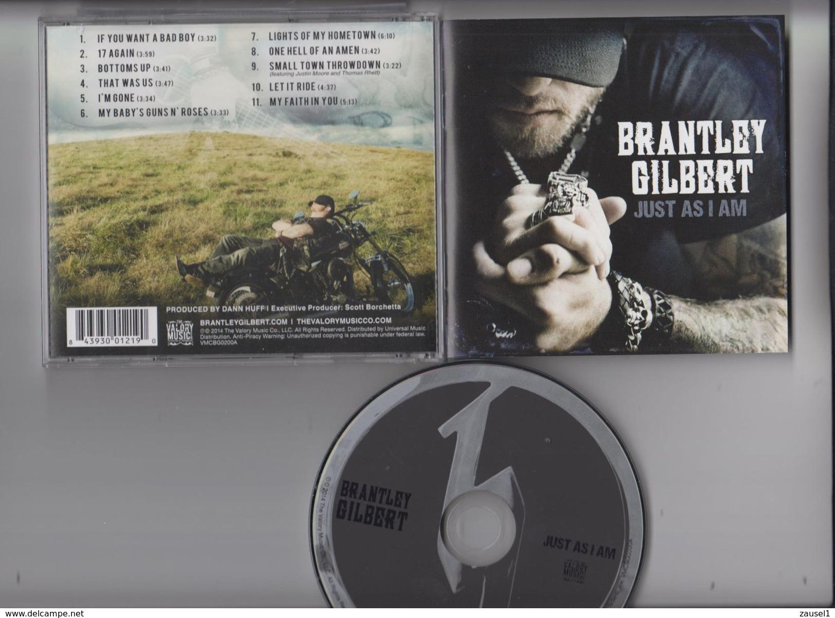 Brantley Gilbert - Just As I Am - Original  CD - Gebraucht, Einwandfreier Zustand - Country & Folk