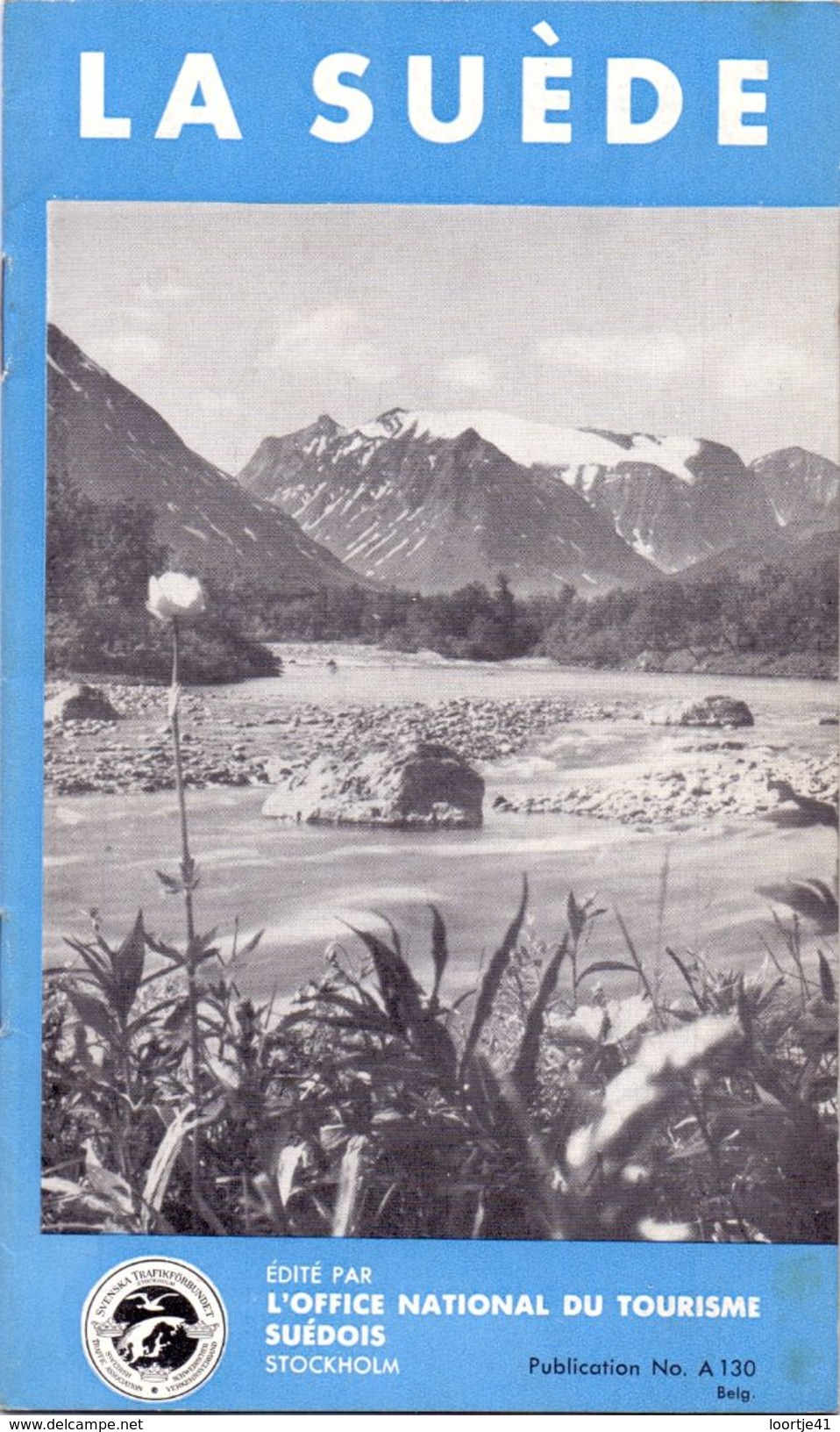 Brochure Toerisme Tourisme - Guide La Suède - Zweden 1934 - Dépliants Touristiques