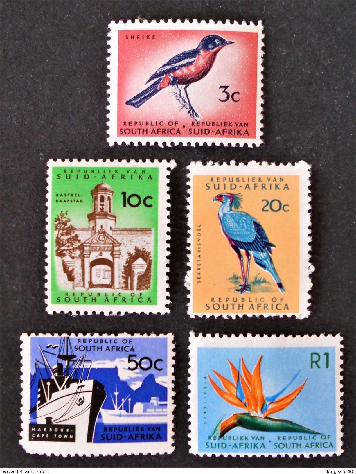 EMISSIONS 1961 - NEUFS ** - YT 268 + 271/73 - Afrique Du Sud (1961-...)
