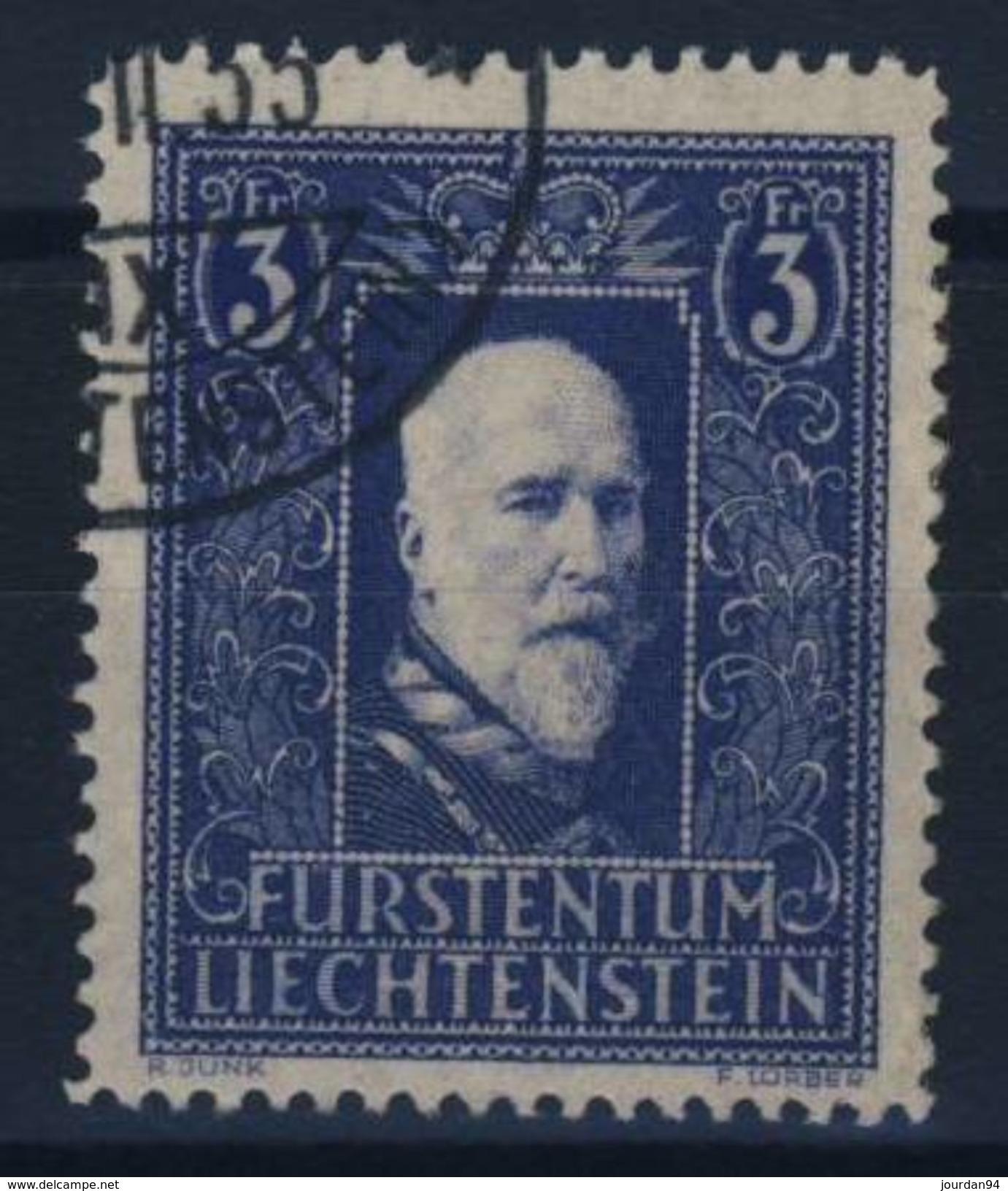 LIECHTENSTEIN      N° 117 - Used Stamps