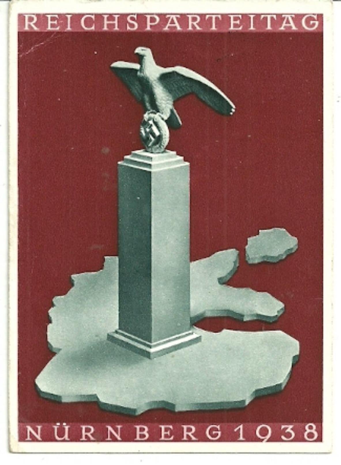 Interessante Karte 1938 - Deutschland