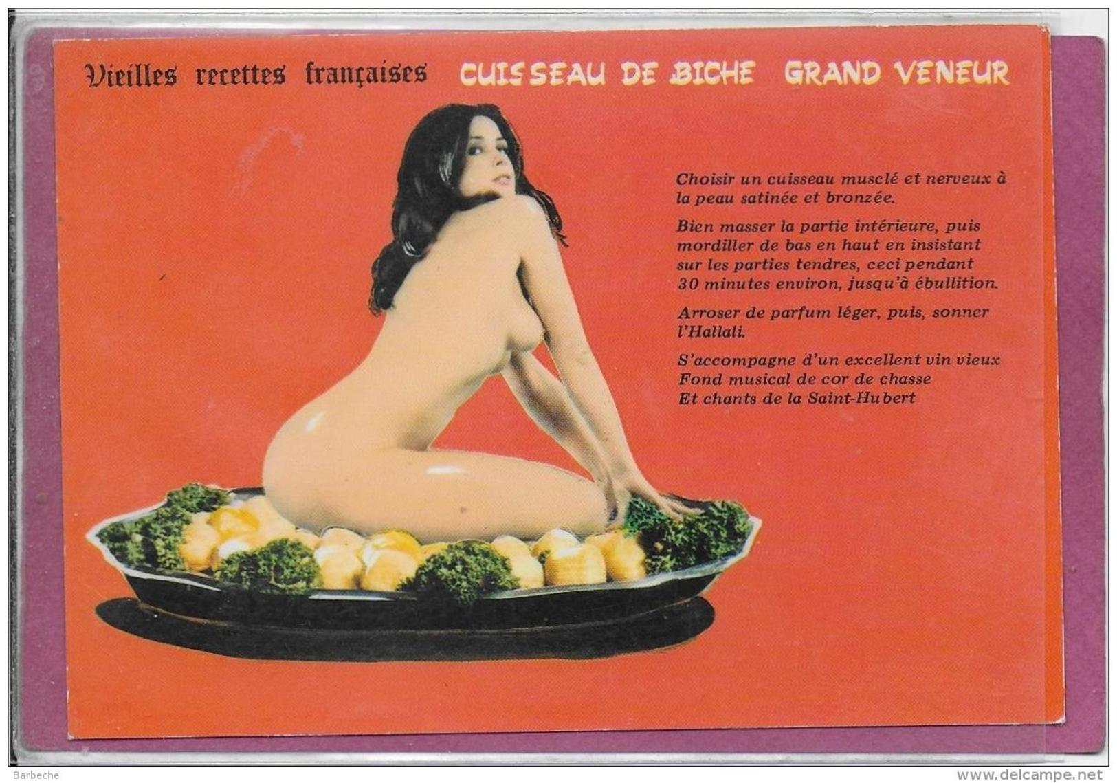 VIEILLES RECETTES FRANCAISES.- Cuisseau De Biche Grand Veneur - Humor