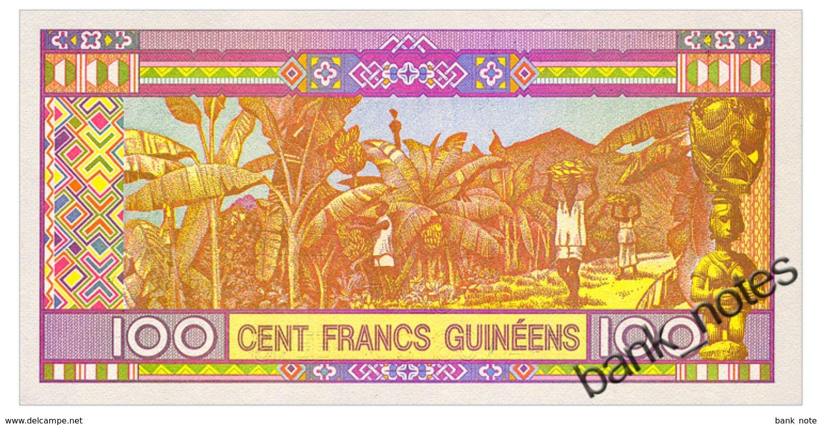 GUINEA 100 FRANCS 2015 Pick A47 Unc - Guinea