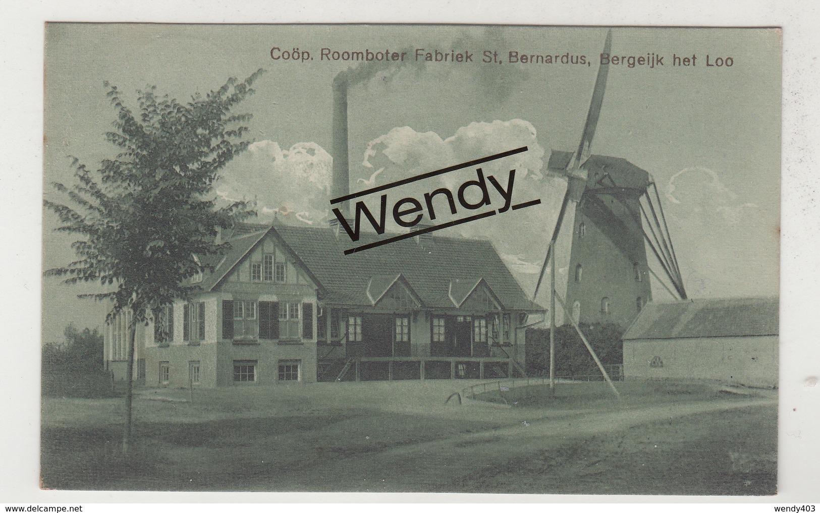 Bergeijk (windmolen - Coöp Roomboterfabriek St. Bernardus) - Pays-Bas